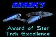 Winner of Garak's Award of Star TrekExcellence!